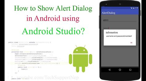 dialog android how to show alert dialog box in android techsupportnep