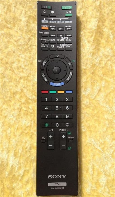 how to replace the l in a tv sony remote control rmgd011 replace rm gd005 kdl40z4500