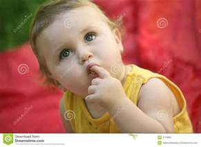 Curious baby stock images image 2715904