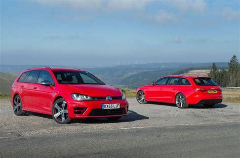 Golf R Comparison by Vw Golf R Versus Audi Rs4 Comparison Autocar