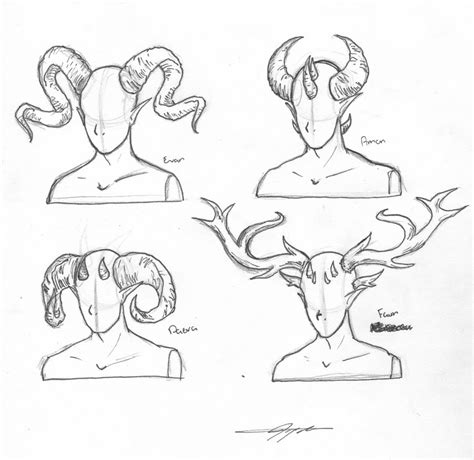 doodle how to make demons how to draw horns search