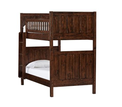 pottery barn loft bed c twin over twin bunk bed pottery barn kids