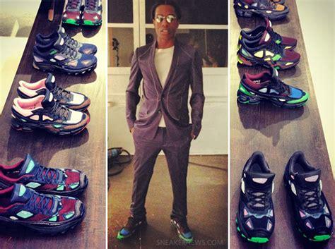 raf simons shoes asap rocky a ap rocky in raf simons x adidas sneakernews
