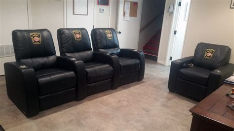 fire department recliners police custom furniture firehouse custom furniture