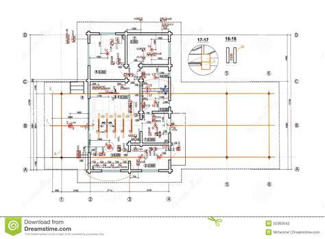 kabelbezeichnungen tabelle engineering electricity blueprint stock illustration