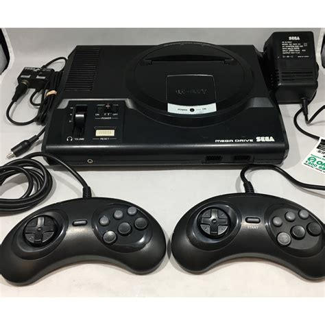 console sega mega drive sega megadrive 1 console 2 controllers pal complete