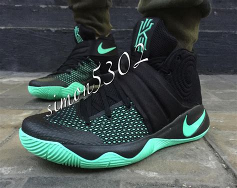 Kyrie 4 Greenglow kyrie 2 release dates photos sneakernews
