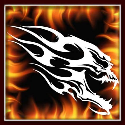 skull 125 airbrush stencil template motorcycle chopper paint
