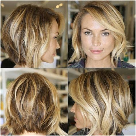 bob hairstyles front view bob haircuts front and back view best shoulder length bob