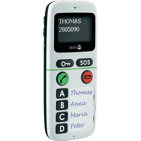 big button mobile phone doro 334 gsm big button sim free mobile phone white from