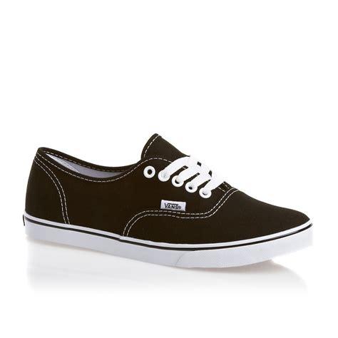 vans shoes vans authentic lo pro womens shoes black