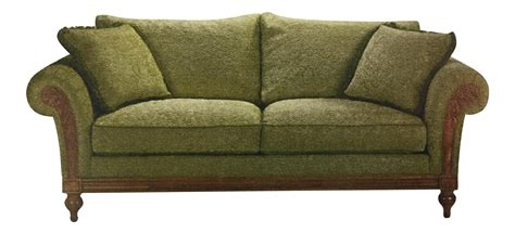 ethan allen pratt sofa ethan allen green pratt sofa chairish