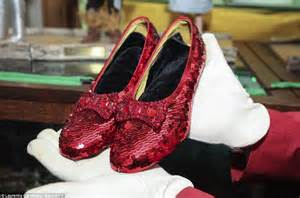 how much are the ruby slippers worth wizard of oz superfan has more than 10k pieces of