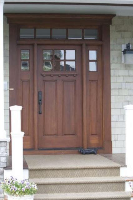 Houzz Exterior Doors Top Lite 2 Panel Entry Door With Transom And Sidelites Traditional Front Doors Other Metro