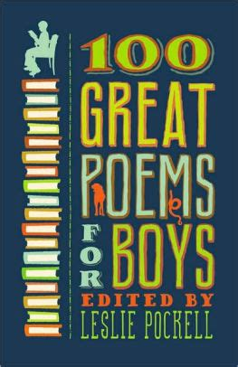 Mba In A Book Leslie Pockell by 100 Great Poems For Boys By Leslie Pockell Paperback