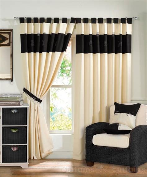 ivory and black curtains 17 best images about wardrobes and curtains on pinterest