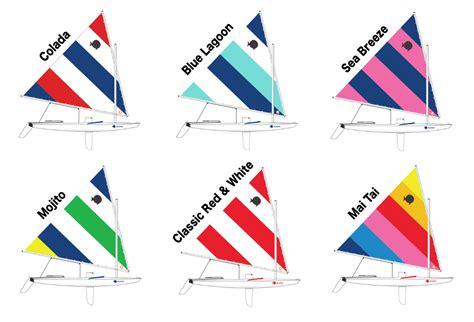 sailboat color the new 2017 sunfish colors shoreline sailboats