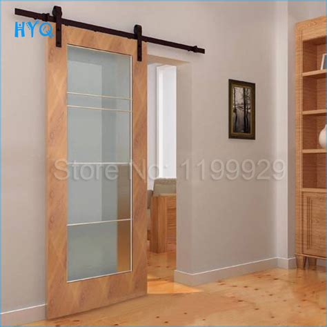 High Quality Sliding Barn Door System Hardware Cast Iron Sliding Barn Door System