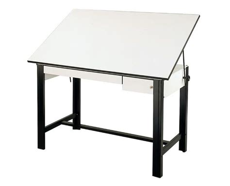 Drafting Table With Drawers Alvin Designmaster Black Base Drafting Table With Drawers Dm60ctbk Tiger Supplies