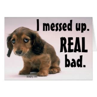 I Messed Up On The - i messed up greeting cards zazzle