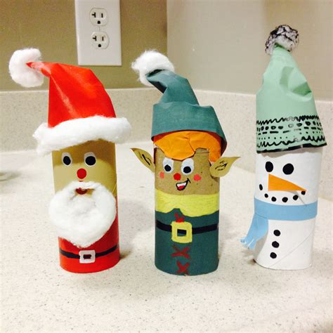 toilet paper roll christmas decorations my crafty