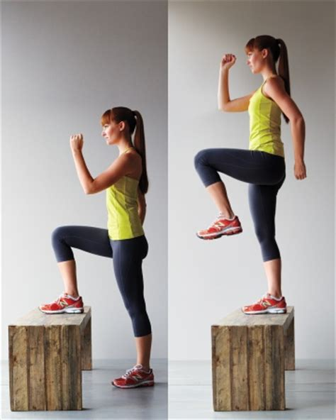 bench step up exercise faudzil blogspot com fitness bench based workout