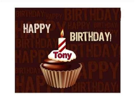 imagenes de happy birthday tony happy happy birthday tony youtube