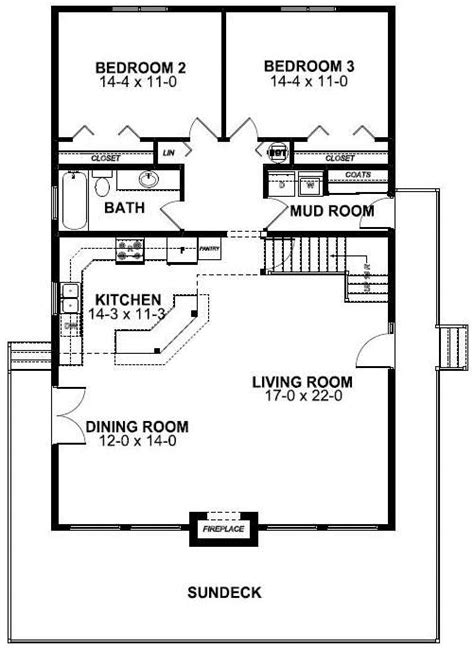A Frame Cabin Floor Plans by House Plan 99962 At Familyhomeplans