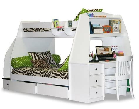 Loft Bed Desk Combo by Bunk Bed Desk Combo Wantster