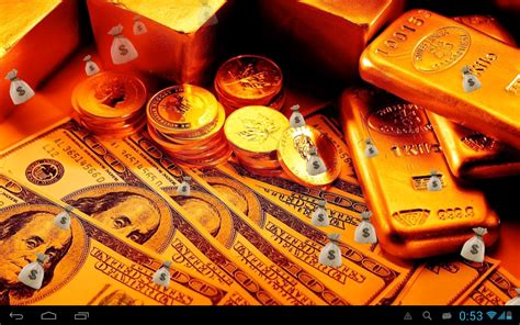 wallpaper money gold money and gold live wallpaper android apps on google play