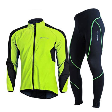 warm cycling jacket winter warm cycling mens fleece jackets bicycle clothing