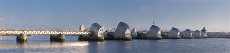 Thames Barrier North Bank | thames barrier simple english wikipedia the free