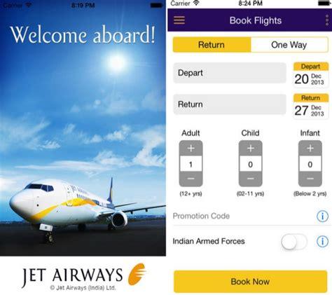 jet mobile app jet airways launches ios app featuring passbook app