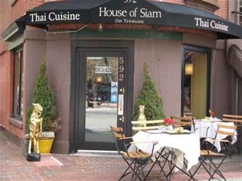 house of siam boston house of siam in the south end boston