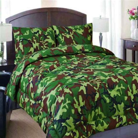 army camo bedding green army camo comforter sheet set 4 bed in a bag