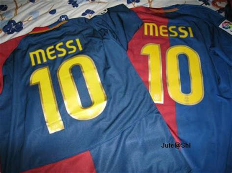 Setelan Jersey Nike Motif Barcelona my collection how to spot an original or messi barcelona home 08 09 jersey