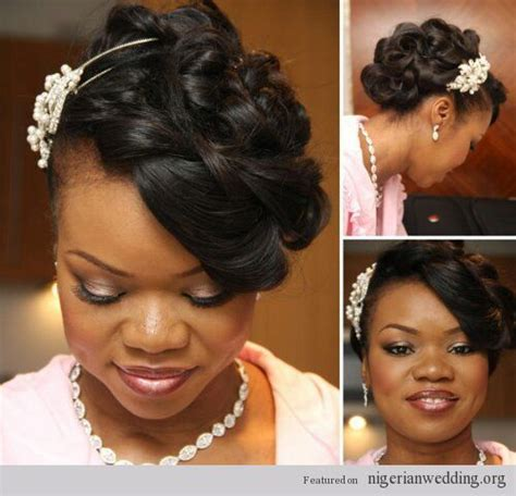 bridal hairstyles for nigerians gallery nigerian hairdos black hairstle picture