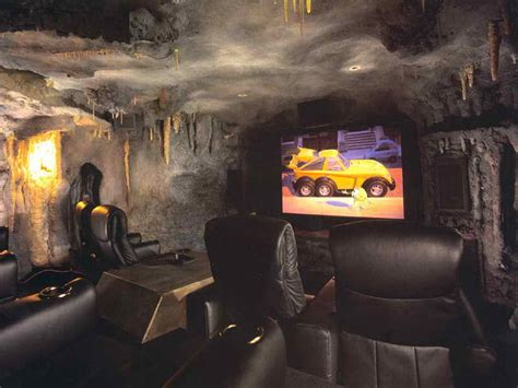 batman cave room cool home theater rooms home interior design