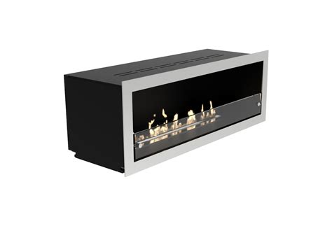 Ribbon Fireplace Insert Orlando Open To Front Manual Or E Ribbon Bioethanol