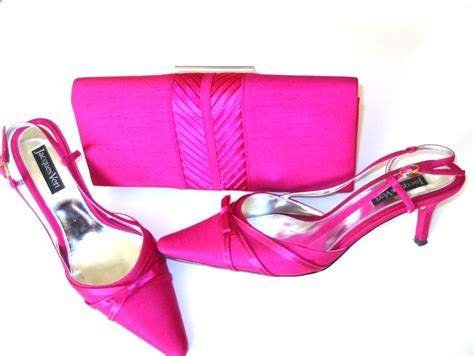 jacques vert shoes matching bag pink size 6
