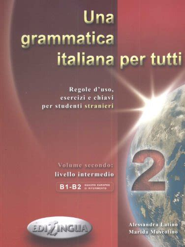 grammatica italiana per tutti 8898433115 contatto vol 2a con cd audio linguistica panorama auto
