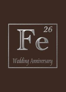 6th iron wedding anniversary congratulations, An