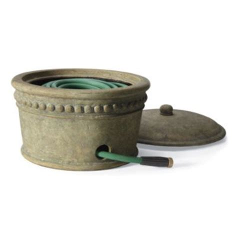 Garden Hose Pot With Lid by This Copper Hose Pot Lid Would Look In Garden
