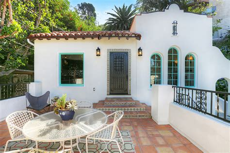 spanish revival colors 1852 deloz ave in los feliz is for sale kenihan development
