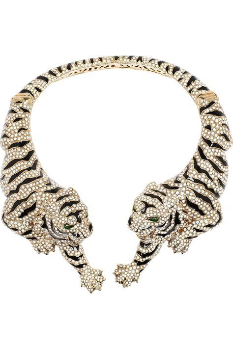 Cavalli Jewelry roberto cavalli gold plated swarovski tiger