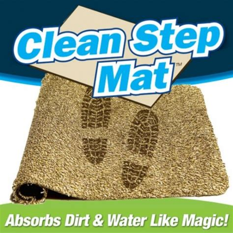 Clean Step Doormat - clean step mat as seen on tv gifts