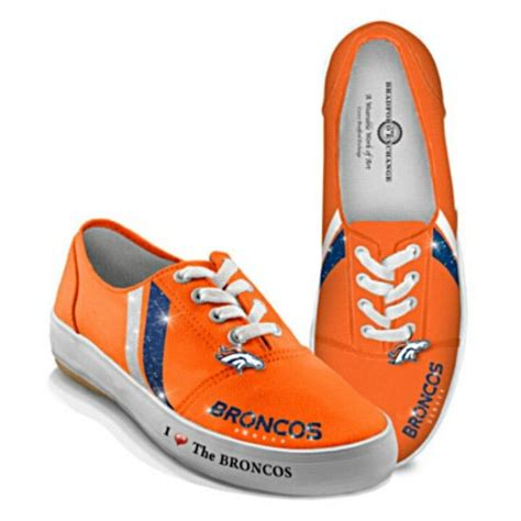 broncos tennis shoes my style