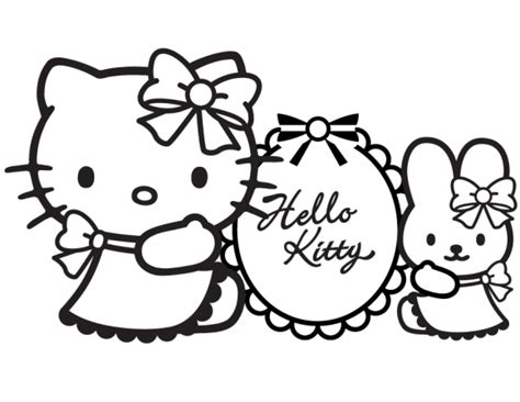 hello kitty tennis coloring pages hello kitty coloring printables easy hello kitty
