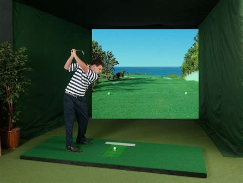 full swing golf simulator cost how much does an indoor golf simulator cost sport