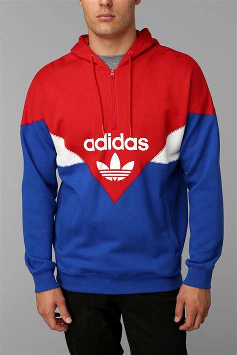 Hoodie Zipper Anak U Redmerch 1 outfitters adidas colorblock halfzip pullover hoodie sweatshirt in for lyst